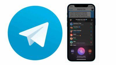 telegram chat de voz