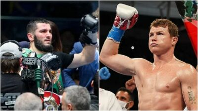 Canelo Álvarez es invitado por Artur Beterbiev para pelear.