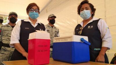 Marina, Sedena y personal médico ampliarán vacunación COVID-19: AMLO