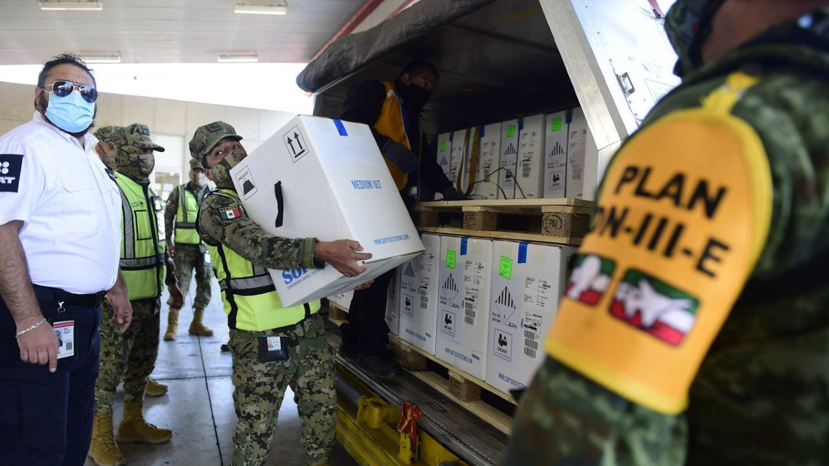 México recibe nuevo cargamento Pfizer; el embarque 11 con 667 mil 875 dosis