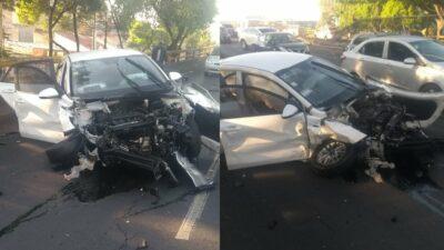 Imagen: fuerte choque en Aquiles Serdán deja saldo de una persona muerta