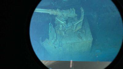 Encuentran Destructor USS Johnston de la II Guerra Mundial