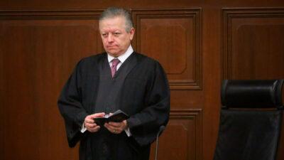 Senado Arturo Zaldívar Corte