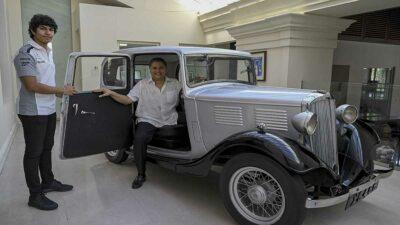 Príncipe Felipe: el primero auto comprado por el duque fue un Standard Nine 1935
