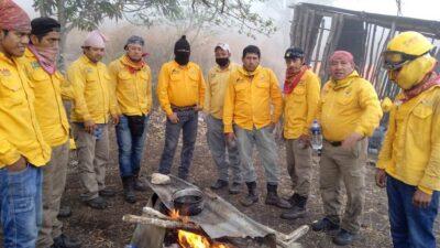 Incendio en Cañón del Sumidero es combatido por guerreros brigadistas