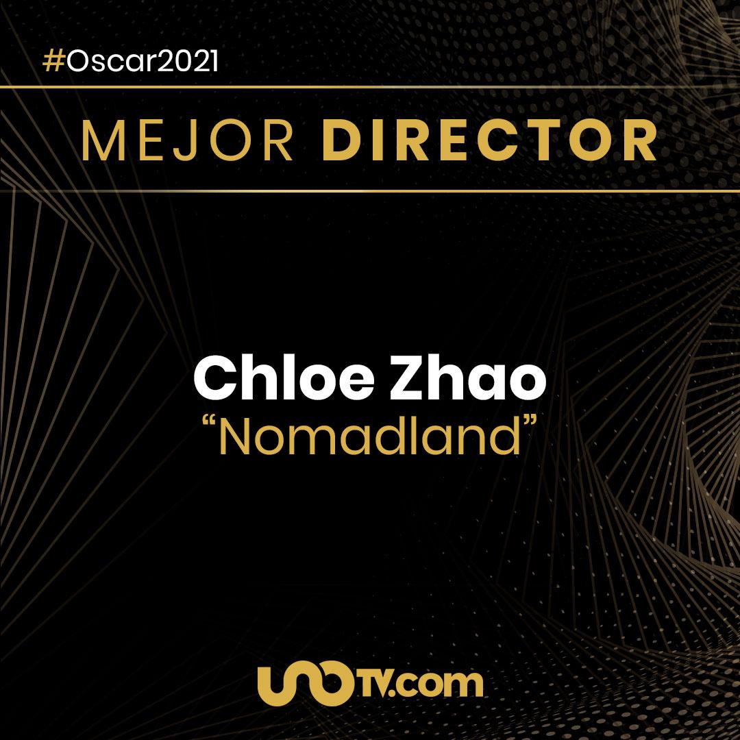 Chloezhao Mejor Directora