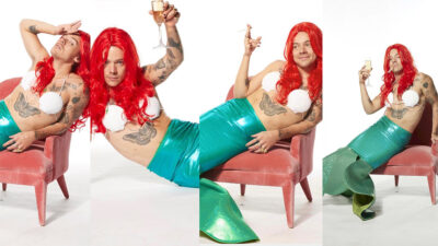 """Fotos de Harry Styles como Ariel de """"La Sirenita"""" se vuelven virales"""