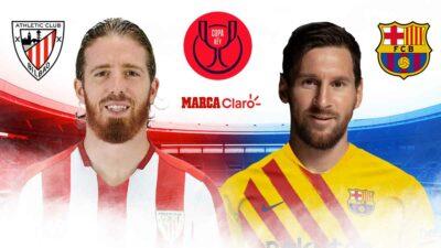 Athletic vs Barcelona: Copa del Rey