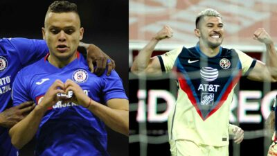 Cruz Azul y América encabezan la tabla general del Guardianes 2021. Foto: AFP