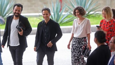 Bella de la Vega y Gael García Bernal