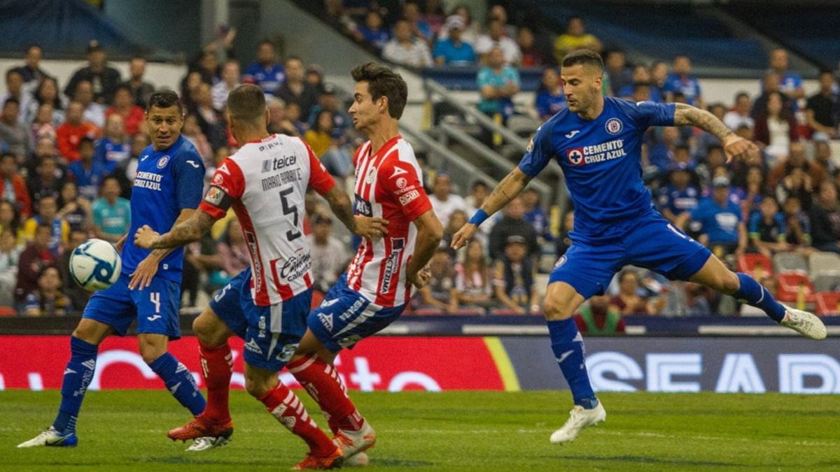 Cruz Azul vs San Luis