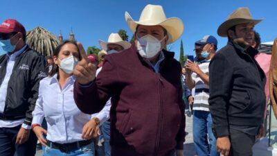 "David Monreal: ""Es mentira"", responde a video donde ""toca"" a candidata"