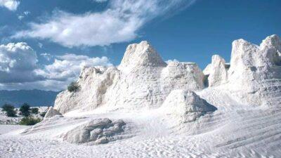 Dunas de Yeso en Cuatro Ciénegas, Coahuila; paisaje blanco para disfrutar