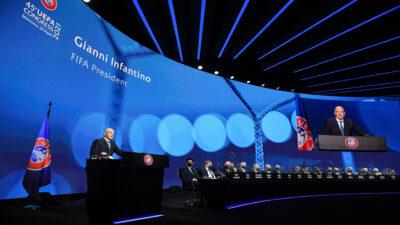 """Superliga: FIFA respalda a la UEFA y advierte sobre """"consecuencias"""""""