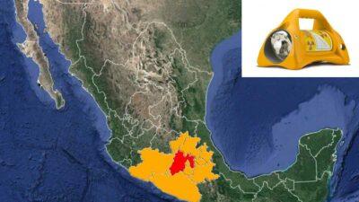 Fuente radiactiva es robada y alertan a estados del país