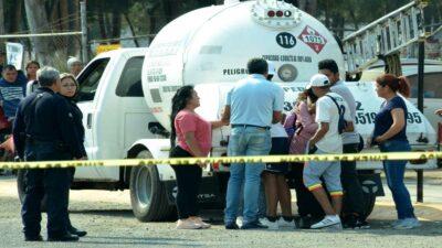Edomex: se hace viral una pelea de gaseros en Texcoco