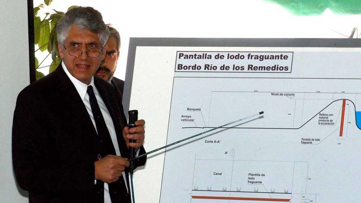 Germán Martínez Santoyo es Ingeniero Civil por la Universidad Nacional Autónoma de México. Foto: Cuartoscuro/Archivo