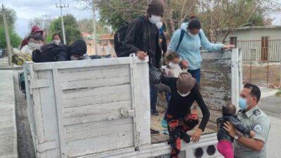Guardia Nacional rescata a 61 migrantes en Nuevo León