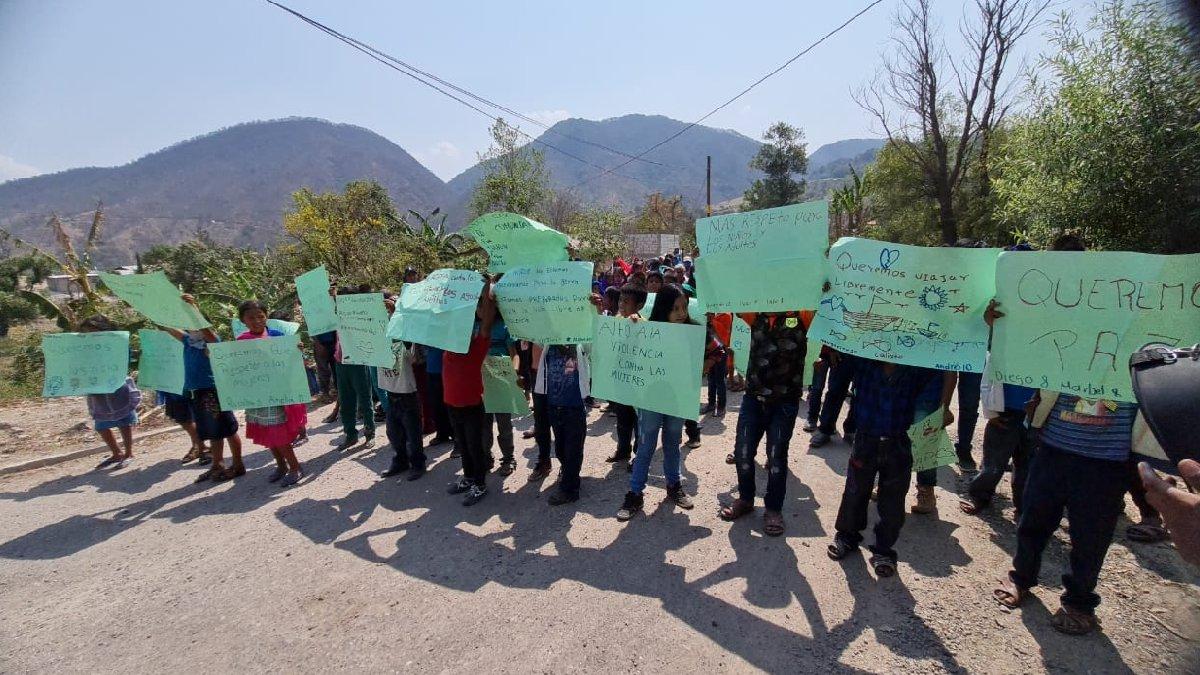 Guerrero: Marchan niños de 24 comunidades; exigen alto a la violencia