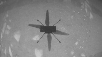 Helicotero Ingenuity Marte Nasa