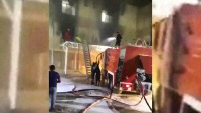 Incendio en hospital de Irak: suspenden al ministro de Salud