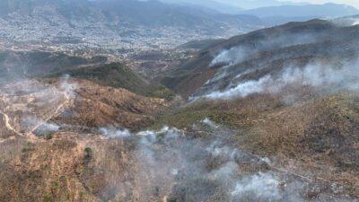 En Guerrero hay 11 incendios forestales activos; ve en qué municipios