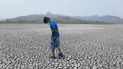 Veracruz: Se seca laguna del Farallón en Actopan
