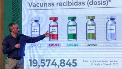 López-Gatell venta de vacunas
