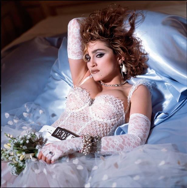 Madonna 1984 Like A Virgin