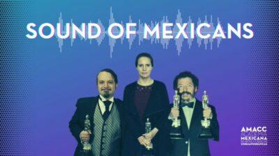 """Bafta: Tres mexicanos ganan premio a mejor sonido por """"Sound of Metal"""""""