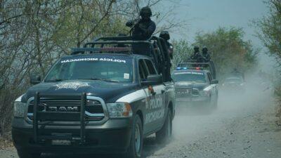 Michoacán: Refuerzan seguridad en Aguililla tras ataque a policías