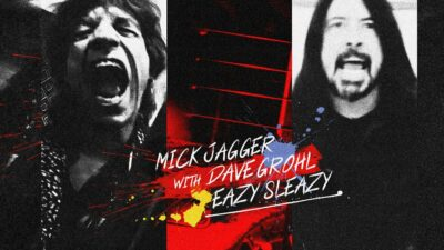 Mick Jagger Y Dave Grohl Eazy Sleazy