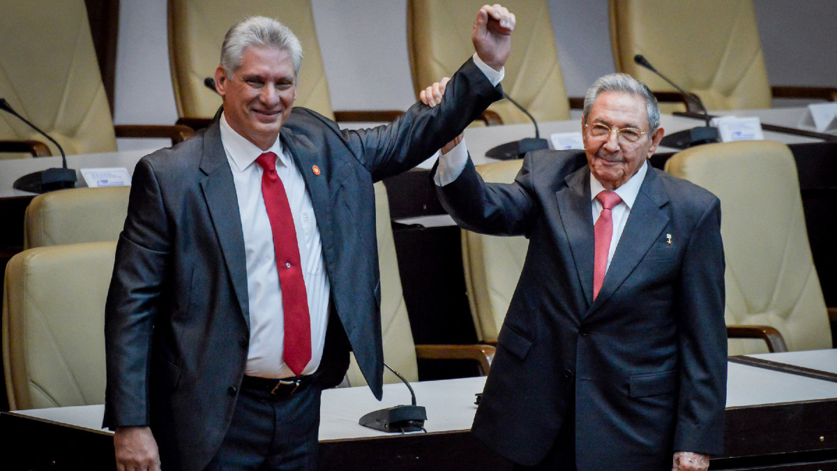 Miguel Díaz-Canel es elegido líder del Partido Comunista de Cuba