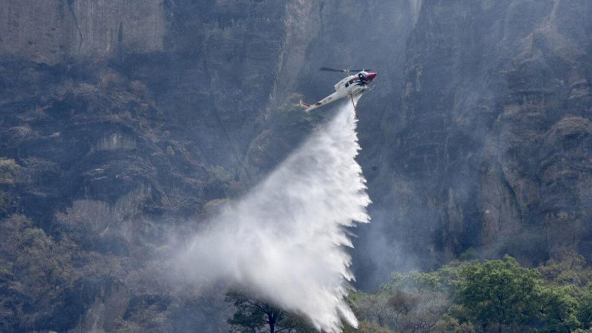 Incendio en Tepoztlán: Cuál es la causa del fuego en el Tepozteco