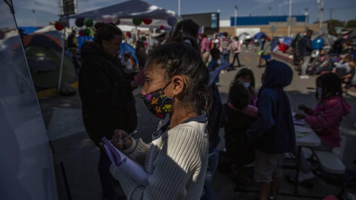 México niños migrantes