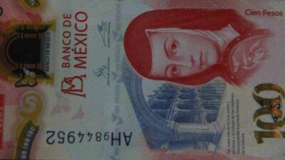Billete 100 pesos Año 2020 Banxico