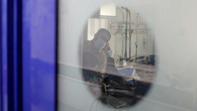 Incendio hospital Irak