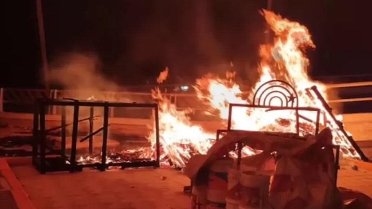 Incendio Plaza Q