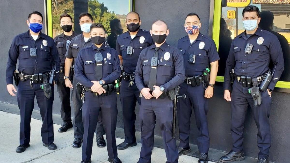 Policía de Los Angeles mata a conductor que portaba chaleco antibalas