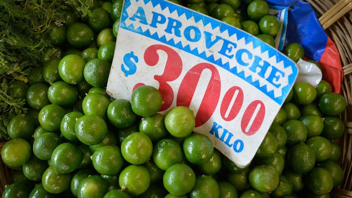 Kilo de Aguacate y limón sube de precio; ve en cuánto está