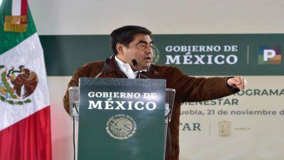 Puebla: Barbosa anuncia protección a menor abusado por Saúl Huerta