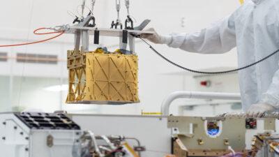 Perseverance logra crear oxígeno respirable en Marte