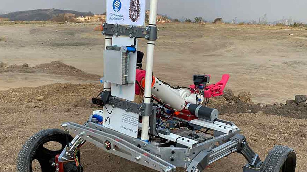 Roverto robot mexicano