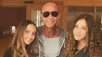Erik Rubín e hijas