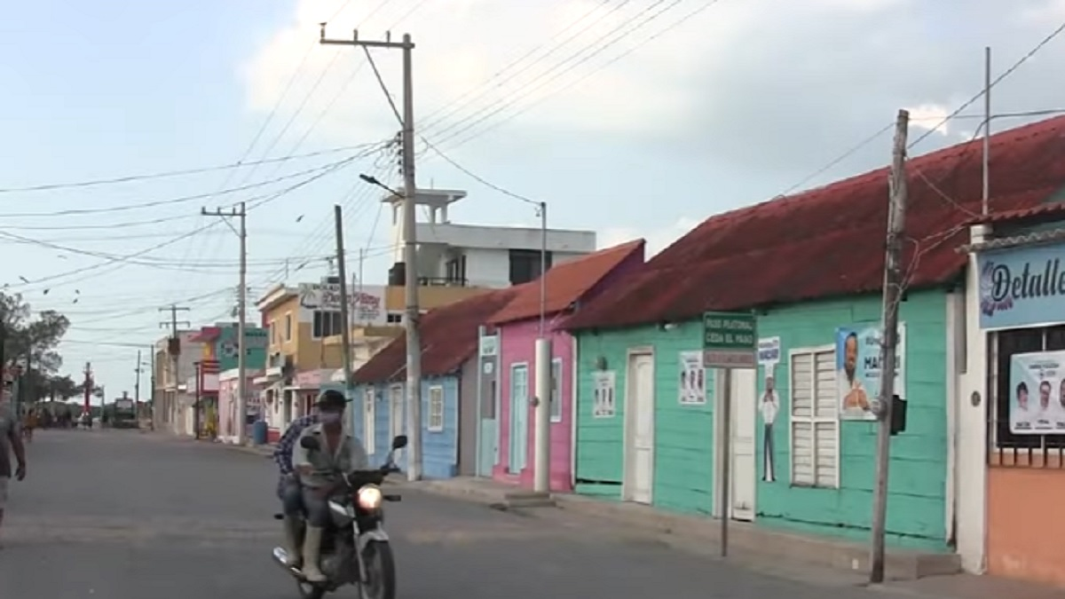 San Felipe, pueblo de colores