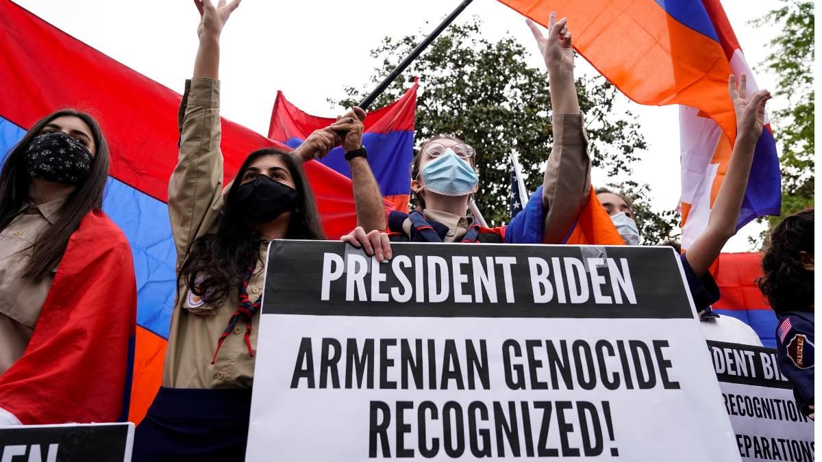 Biden reconoce oficialmente matanza de 1.5 millones de armenios como genocidio