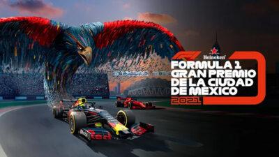 México, firme para el Gran Premio de la Fórmula 1