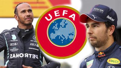 Checo Pérez, UEFA y Hamilton desaparecen en redes en protesta contra el racismo