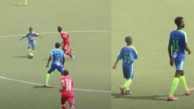¡Todo un crack! Niño debuta en el futbol profesional a los 11 años