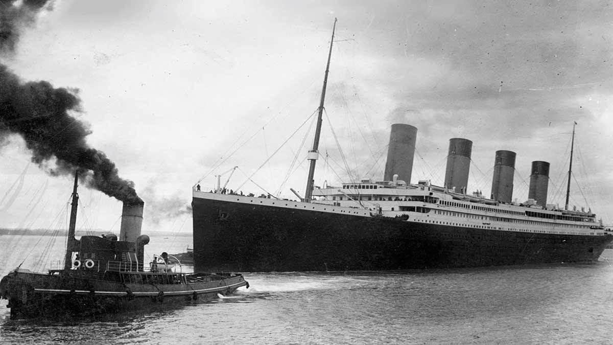Postal del Titanic podría alcanzar los 15 mil dólares en una subasta